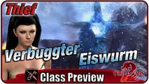 GUILD WARS 2 | Dieb (Thief) Verbuggter Eiswurm Boss Preview Gameplay [2015 / MMORPG]