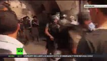 Clashes at jerusalem Holy site enter third day in Israel - clashes between worshippers and police
