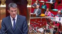 """Manuel Valls : """"Nous ne remettrons jamais en cause le droit d'asile"""""""