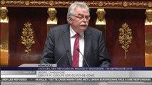 Accueil des réfugiés : le discours d'André Chassaigne