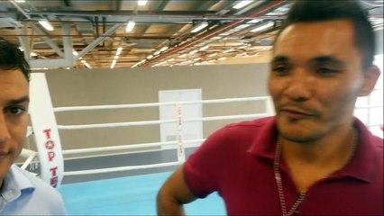 Boxeador cearense encontra ídolo Popó Freitas e pede chance de treinar com ele