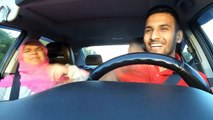 Zaid Ali -  Singing Songs To Mother In Car - Very Very Funny Must Watch