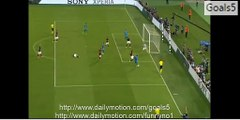 Luis Suarez Amazing Goal - AS ROMA 0-1 FC Barcelona - Uefa Champions League 16.09.2015 HD