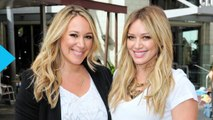 Hilary and Haylie Duff All Smiles in New York City