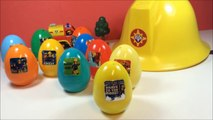 Surprise eggs Fireman Sam Surprise FRENCH TOYS oeufs surprise huevo sorpresas CBeebies kids videos enfants