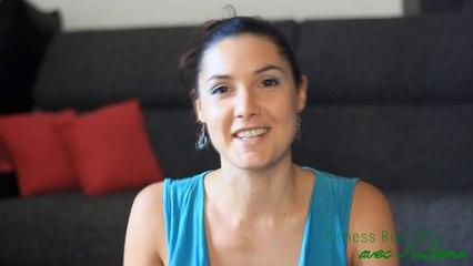 Juliana Teste l'application sportive Fizzup