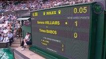 2015 Day 3 Highlights, Serena Williams vs Timea Babos