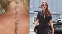 Victoria Beckham Gets Out Of Fashion Tattoo Removed