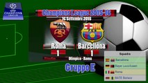 Roma Barcellona 1-1 Gol di Suarez e Florenzi - Champions League