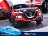 Nissan Gripz concept en direct du salon de Francfort 2015
