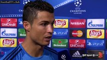 Real Madrid vs Shakhtar Donetsk 4   0 - Cristiano Ronaldo post match interview