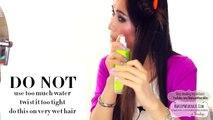 NO-HEAT SELENA GOMEZ CURLS OVERNIGHT TUTORIAL - HEATLESS WAVES HAIRSTYLES FOR MEDIUM LONG HAIR