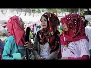 New Zoya Hijab Tutorial 2015 - Hijab Makeover -  Hijab Fun Walk & Run 2015