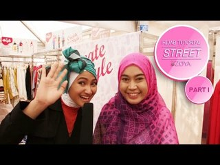 New Simple ZOYA Hijab Tutorial On The Street 2015 Part 1