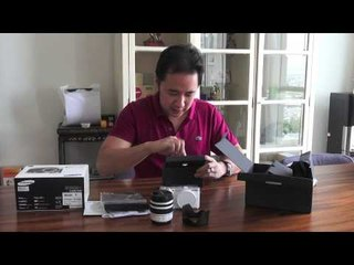 Unboxing Samsung Smart Camera #NX300