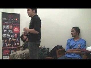 Rapid Handshake Induction (Denny Santoso - hypnosis)