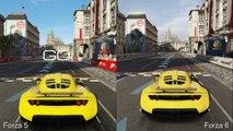 Forza 6 Tech Analysis + Forza 5 Graphics Comparison