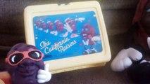 80 toys the California Raisins