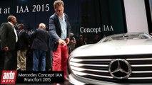Mercedes Concept IAA : Salon de Francfort 2015