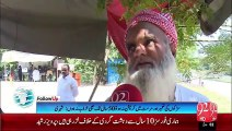 Islamabad: Newly builts roads are damaged in small span of time- 17-9-2015