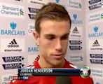 Liverpool Vs Chelsea 4-1 - Jordan Henderson & Andy Carroll Interviews - May 8 2012 - [High Quality]