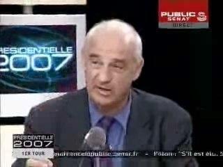 Mégret sur Public Sénat - 23.04.2007