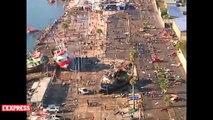 Chili: la côte vue depuis les airs après le tremblement de terre