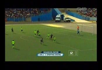 Sporting Cristal venció 3-2 a UTC y sumó su tercera victoria en el Torneo Clausura [Video]