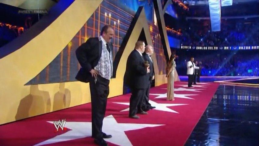 WWE WrestleMania 30 by KrisAnderson97 - dailymotionWwe Hall Of Fame 2014 Inductees