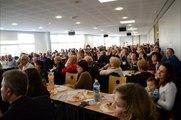 Elections Départementales 2015 - Stade du Verger Six-Fours 18 01 2015 - Captation Discours - 720p