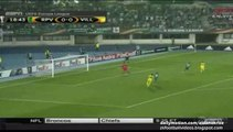 Leo Baptistao Fantastic Chance, Nice Backheel Pass | Rapid Wien v. Villarreal 17.09.2015 HD