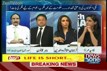 10 PM With Nadia Mirza - 17th September 2015
