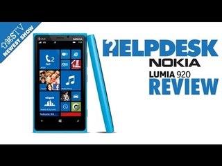 Nokia Lumia 920 Review - Save AS TV - Helpdesk