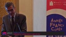Année France-Corée 2015-2016 // conférence de presse, discours d'Henri Loyrette