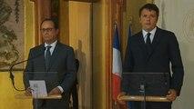 Déclaration conjointe avec Matteo RENZI, Président du Conseil italien