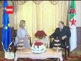Bouteflika reçoit Federica Mogherini