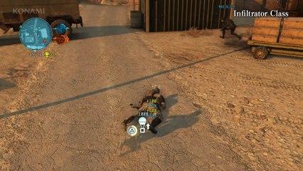 Metal Gear Online Gameplay Demo TGS 2015 de Metal Gear Online 3