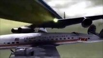 Mid Air Plane Crash New York City United Airlines vs Trans World Airlines Mid Air Crash -