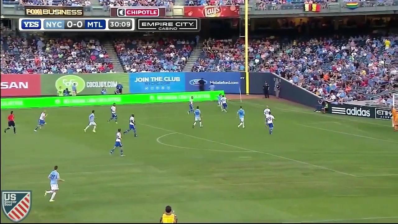 David Villa ● Best of MLS 2015 ● US Soccer Soul   HD