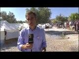 TV3 - Telenotícies migdia - Lesbos té els camps de refugiats plens a vessar