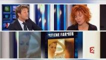 Mylène Farmer au JT de Laurent Delahousse à 20 Heures sur France 2