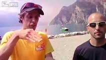 Crazy French dude lands basejump without parachute
