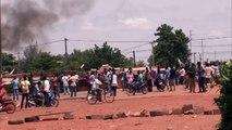 Caos em Burkina Faso depois de um golpe de Estado