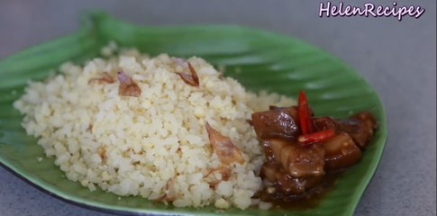 XOI VO - Sticky Rice Coated with Mung Beans