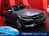 Mercedes Classe C Coupé en direct du salon de Francfort 2015
