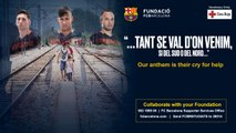 Fundació FC Barcelona - Campaign to aid the refugees '... tant se val d'on venim...'