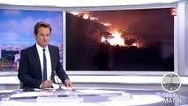Pyrénées-Orientales : un violent feu de forêt fait une victime parmi les pompiers