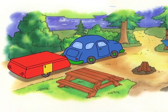 Caillou 202 - The Treasure Chest // A Camping We Will Go // Chopsticks // A Special Dog