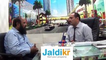 www.jaldikr.com interview Mr.Naseer Ahmed from Naseer Estate: Big City Plaza Gulberg Plaza 3 Lahore - Buy Property in Pakistan