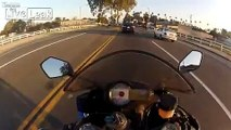 One Intersection, Three Close Calls On Motorcycle